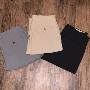 EUC Men's Greg Norman Traveler Pant (3 pairs)